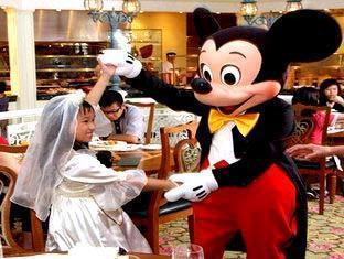 Hong Kong Disneyland Resort Hong Kong - The Enchanted Garden Restauran
