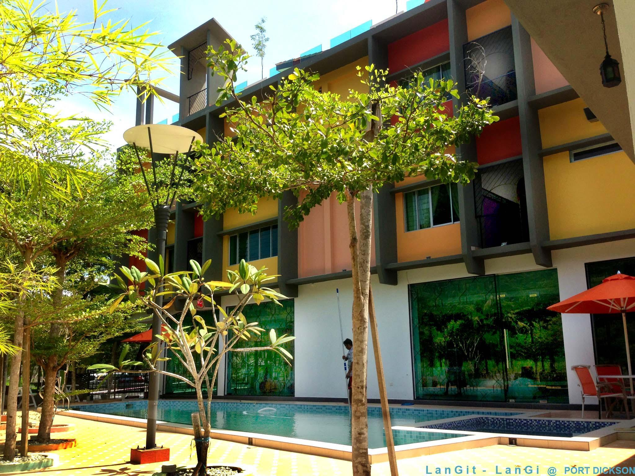 Langit Langi Hotel at Port Dickson - Hotels and Accommodation in Malaysia, Asia