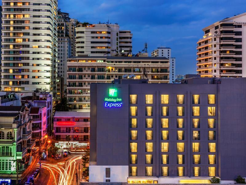 Holiday Inn Express Bangkok Sukhumvit 11 - Hotell och Boende i Thailand i Asien