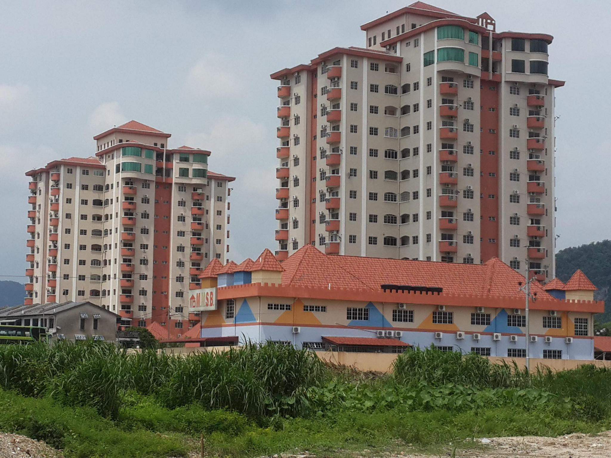 Holiday Apartment at Bercham Prima - Hotels and Accommodation in Malaysia, Asia