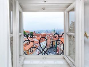Hotel Golden Star Praag - Uitzicht