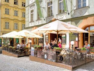 Hotel Golden Star Praag - Tuin