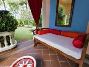 Taj Exotica Goa South Goa - Presidential Suite Bedroom Patio