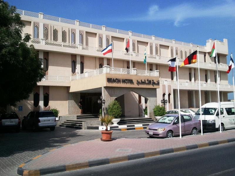 Beach Hotel Sharjah - Hotels and Accommodation in United Arab Emirates, Middle East