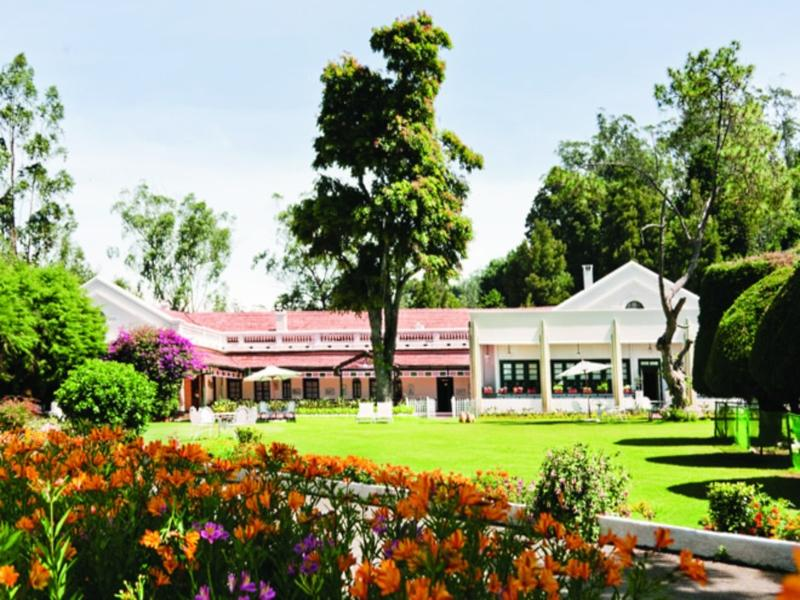 Taj Savoy Hotel - Hotel and accommodation in India in Ooty