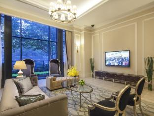Green Court Serviced Apartment at People Square Shanghai - TV Area