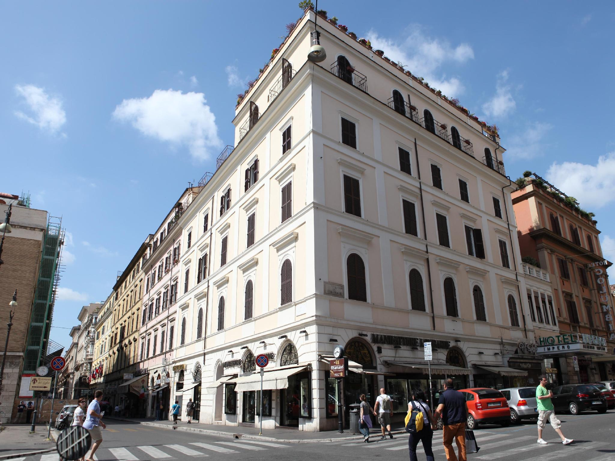 Impero Hotel - Termini Central Station, Rome, Italy ...