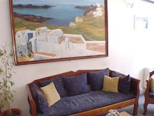 Greece Hotel Accommodation Cheap | Anny Hotel Santorini Santorini - Living room