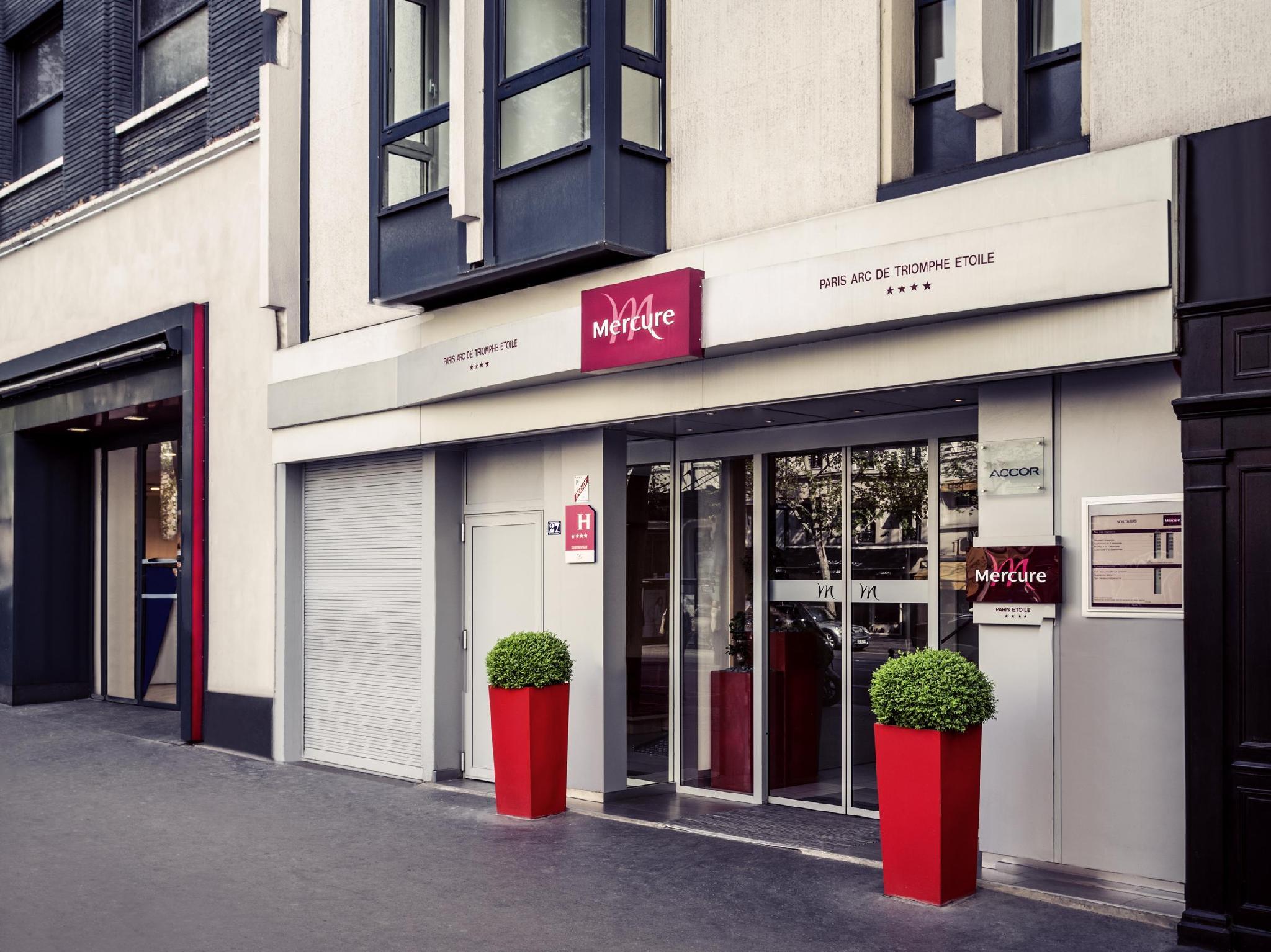 Mercure Paris Arc de Triomphe Etoile Hotel - Hotell och Boende i Frankrike i Europa