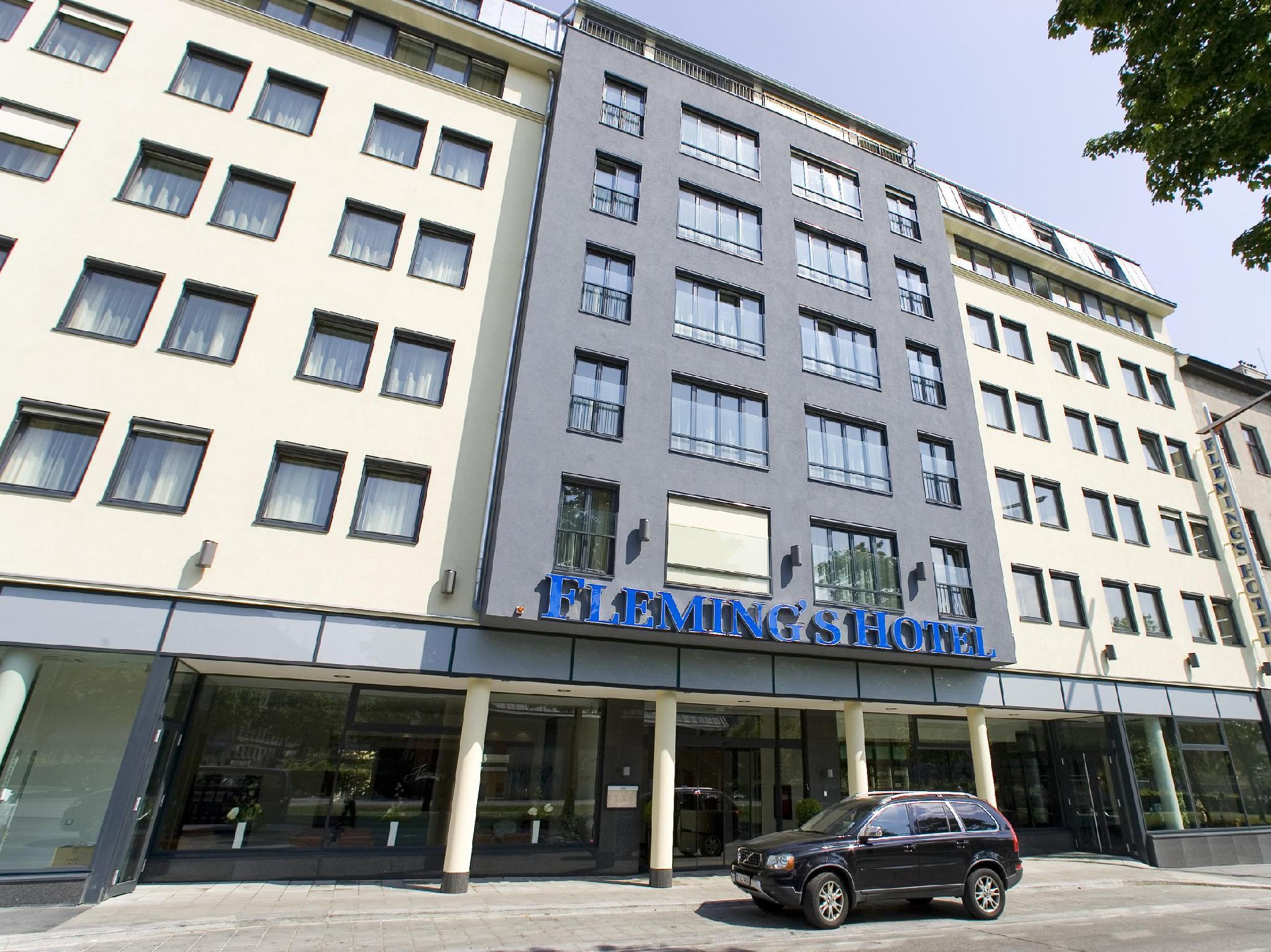 Fleming's Hotel Wien - Westbahnhof Vienna - Hotel Building