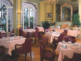 Hotel Longemalle Ženeva - kavarna