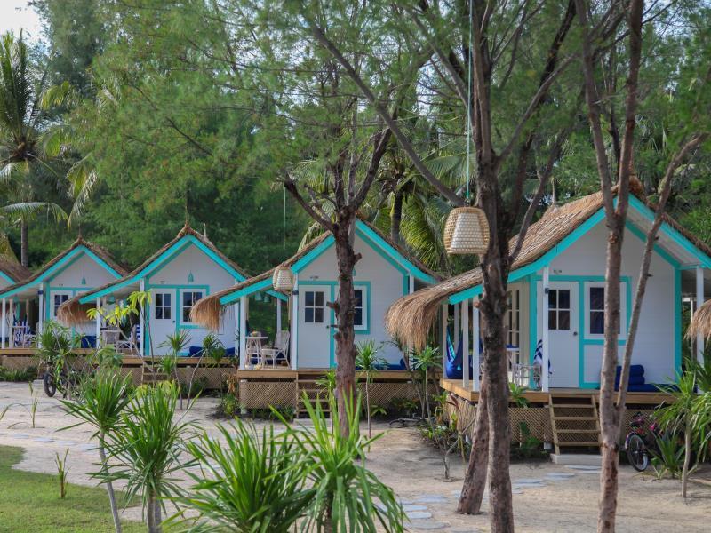 Le Pirate Beach Club Gili Trawangan - Lombok