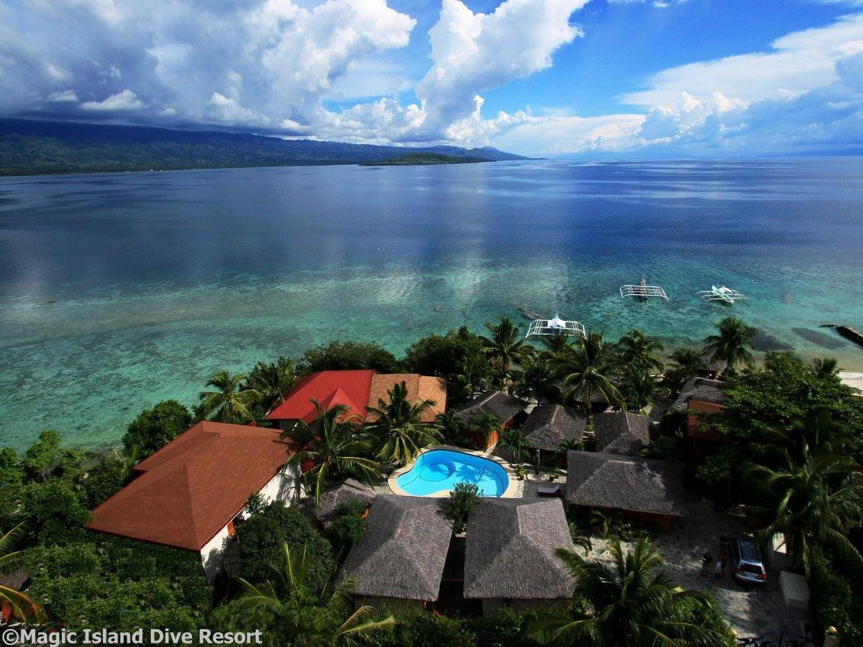 Magic Island Dive Resort - Hotels and Accommodation in Philippines, Asia