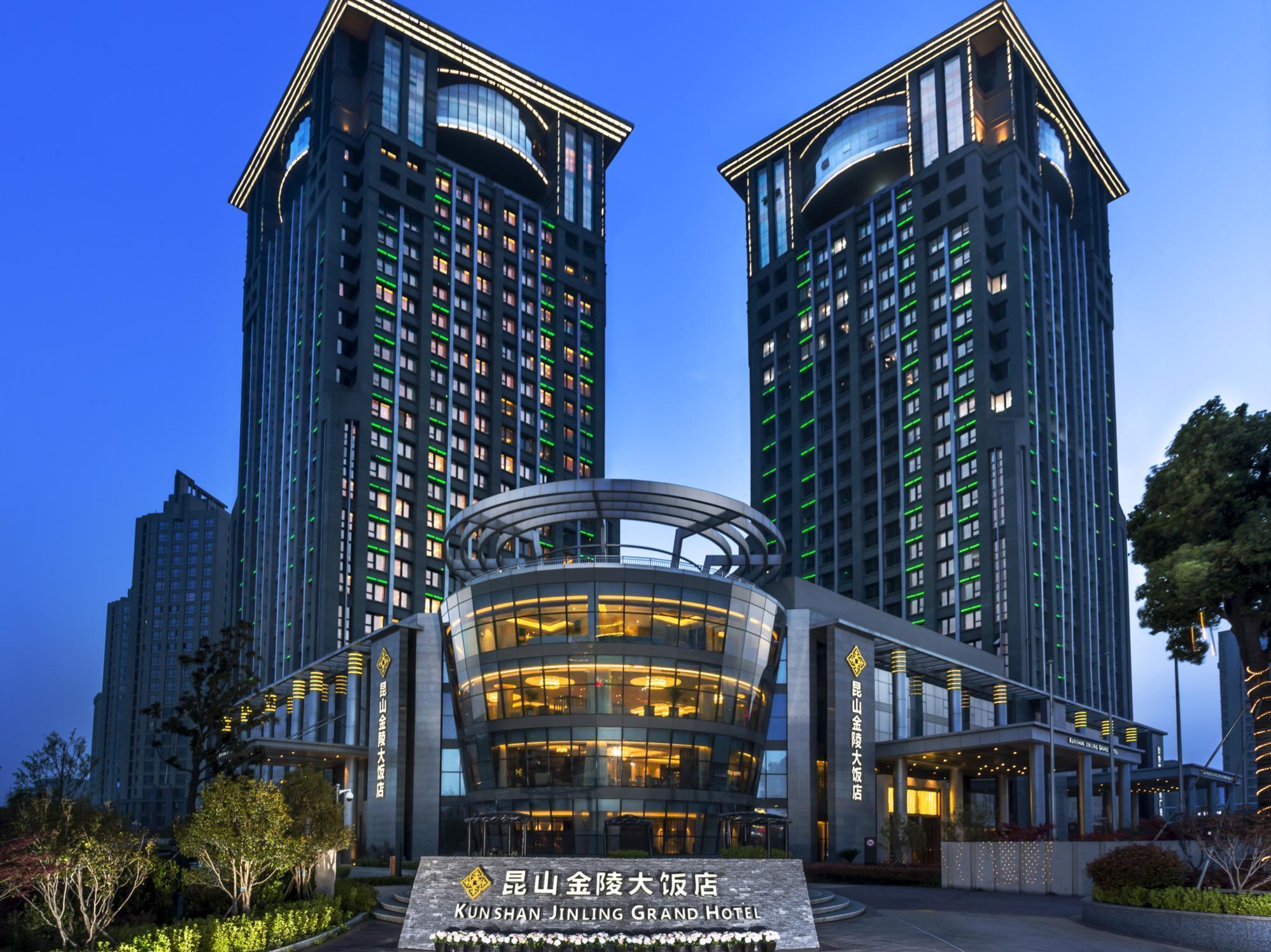 Jinling Grand Hotel Kunshan Kunshan China Great
