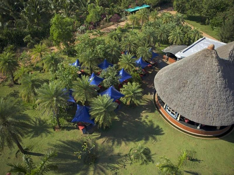 The Dune Eco Beach Village and Spa - Hotel and accommodation in India in Pondicherry