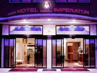 Hotel Degli Imperatori Rome - Main entrance