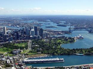 Blue Sydney A Taj Hotel Sydney - Aerial View