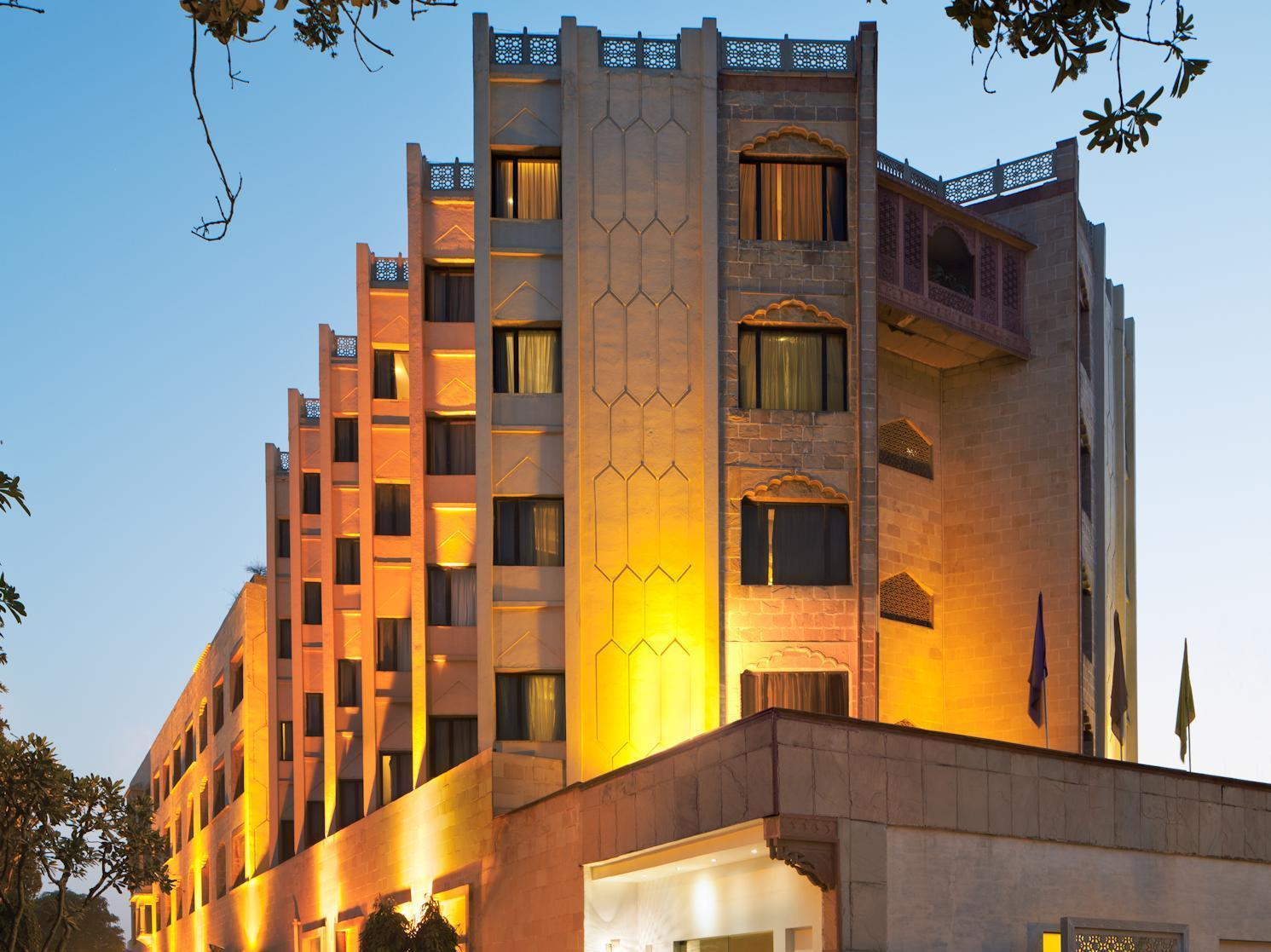 Mansingh Palace Hotel Agra - Hotell och Boende i Indien i Agra