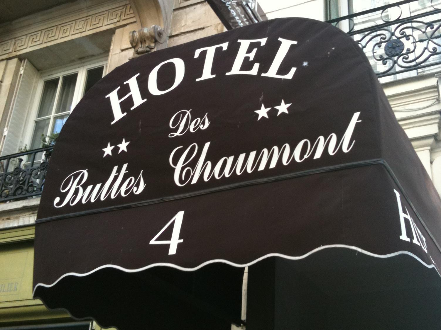 Hotel Buttes Chaumont - Hotell och Boende i Frankrike i Europa