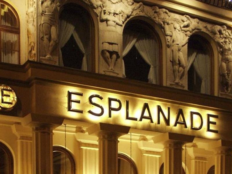 Esplanade Hotel Praag - Hotel exterieur