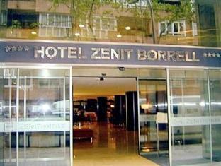 Hotel Zenit Borrell Barcelona - Bejárat