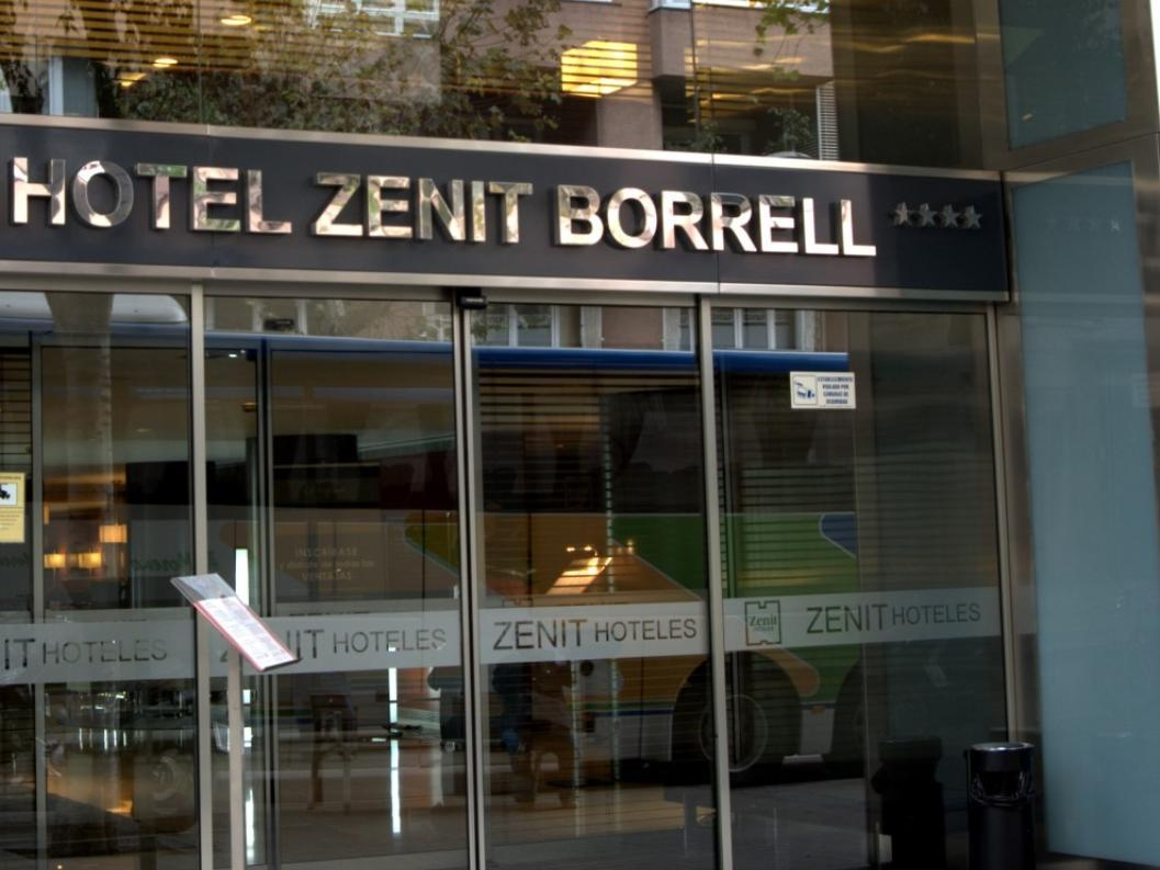 Hotel Zenit Borrell Barcelona - A szálloda kívülről