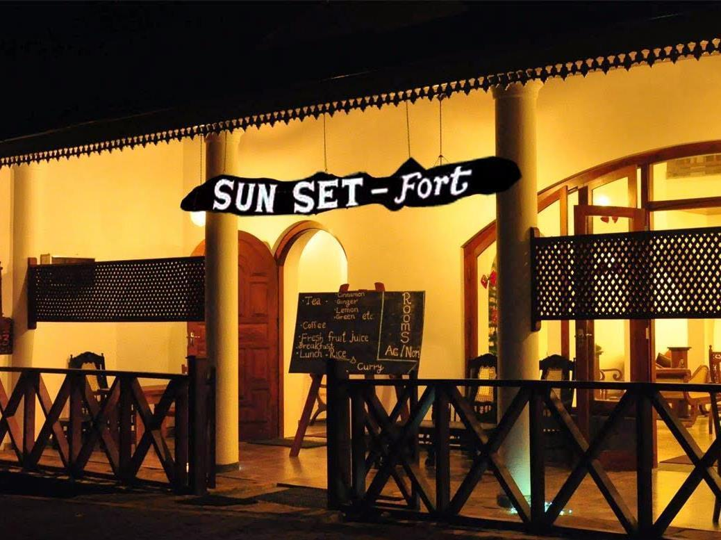 Sunset Fort Hotel - Hotels and Accommodation in Sri Lanka, Asia