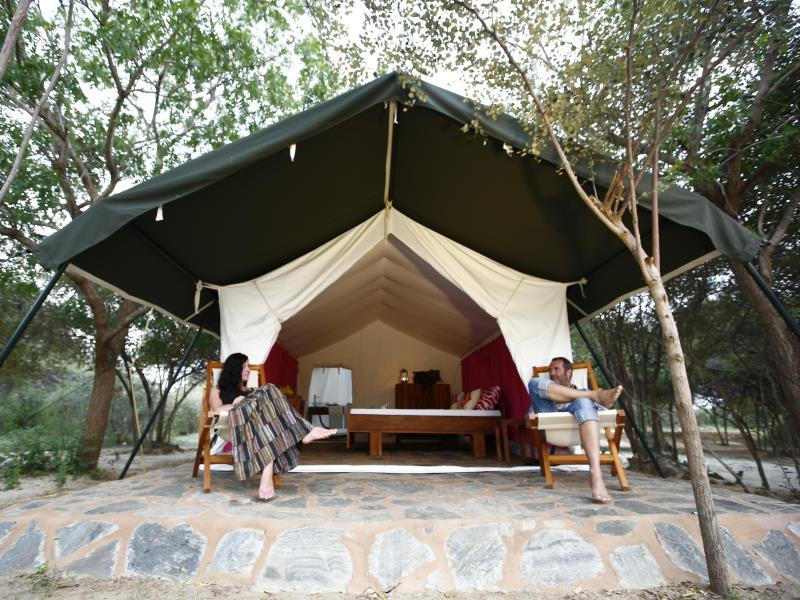 The Naturalist Luxury Tents - Hotels and Accommodation in Sri Lanka, Asia