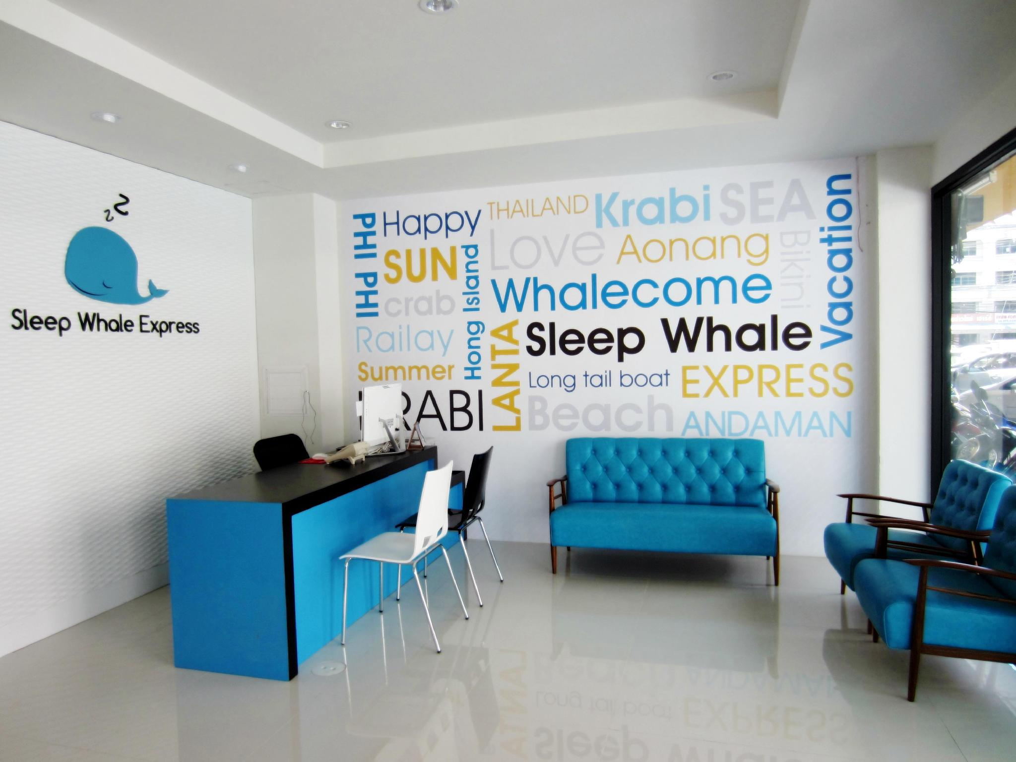 Sleep Whale Express Hotel - Hotell och Boende i Thailand i Asien