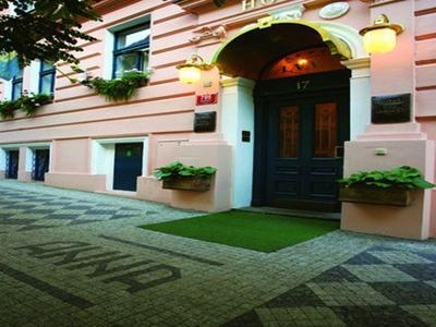 Hotel Anna Prag - Hotel Aussenansicht