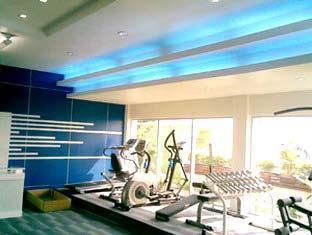 曼谷格蘭維爾酒店 曼谷 - 健身房