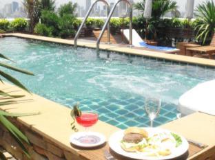曼谷格蘭維爾酒店 曼谷 - 水療浴缸
