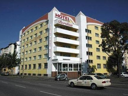 Berolina Airport Hotel Berlin - Hotel z zewnątrz