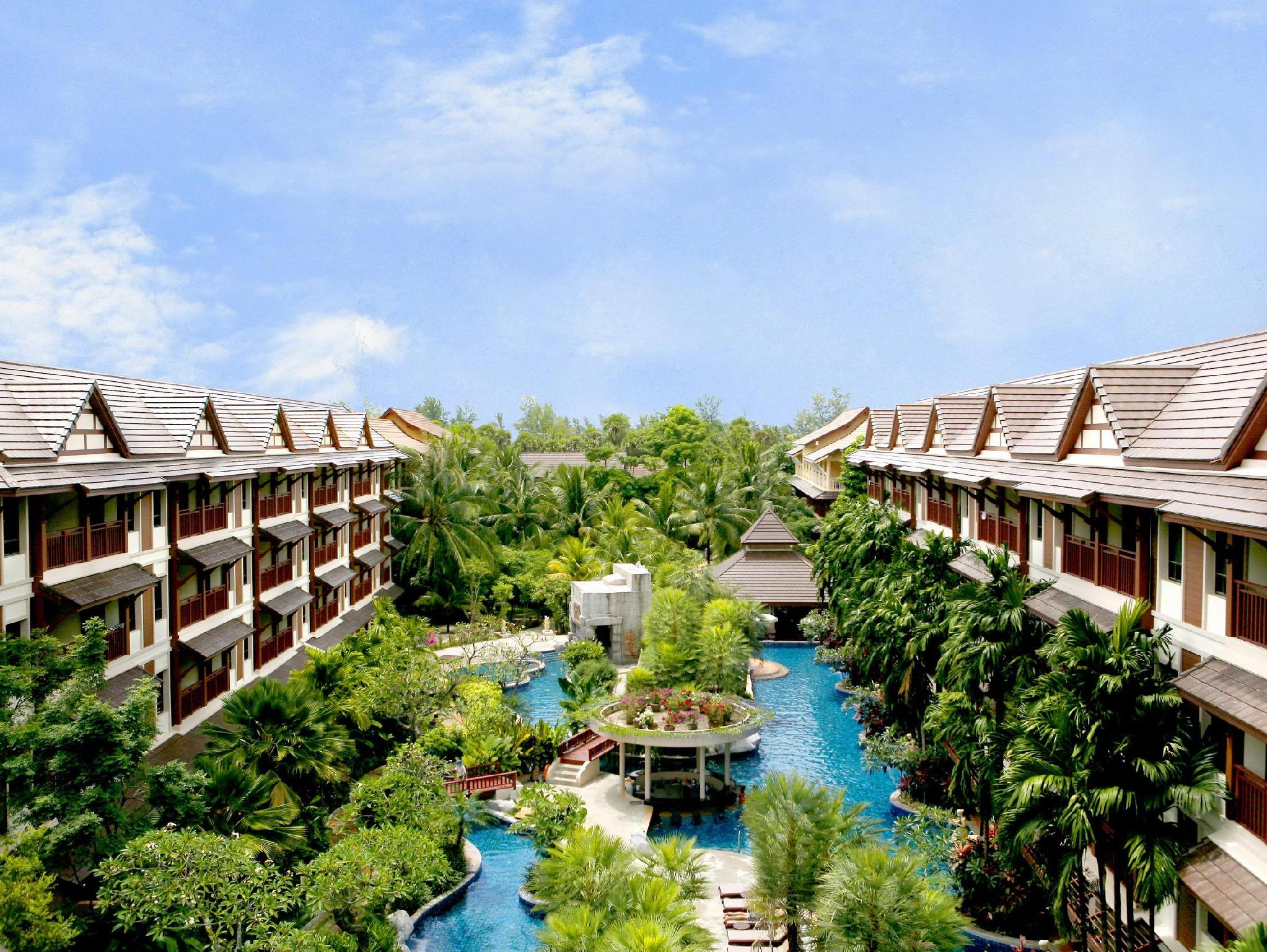 Kata Palm Resort Phuket - Utsiden av hotellet