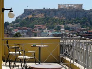 Evripides Hotel Athens - Balcony/Terrace