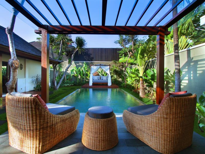 Hotell The Ulin Villas and Spa