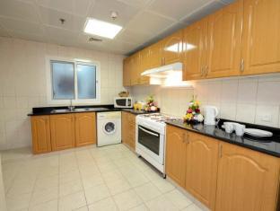 Grand Midwest Hotel Apartments Dubai - Kitchen