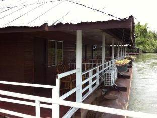 โรงแรมบ้านสวนฝน กาญจนบุรี - ระเบียง