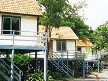 โรงแรมบ้านสวนฝน กาญจนบุรี - ภายนอกโรงแรม
