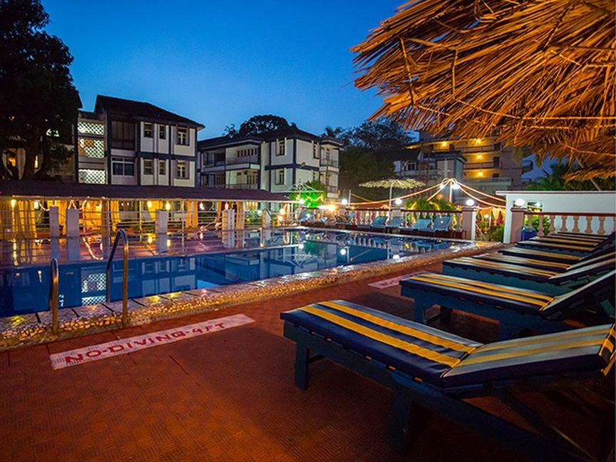 Beira Mar Alfran Resort - Hotell och Boende i Indien i Goa