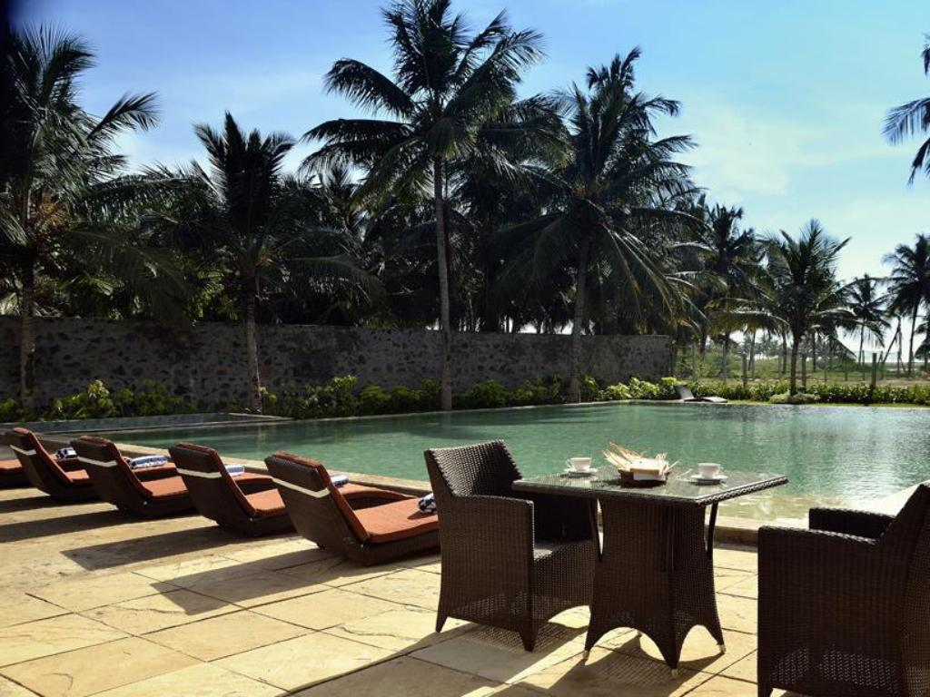 Best price on the windflower resorts spa pondicherry in pondicherry reviews for Best hotels in pondicherry with swimming pool